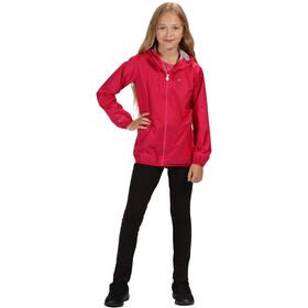 Regatta Lever II Waterproof Shell Jacket Kids, cabaret